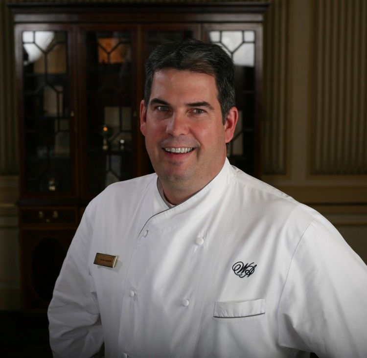 Executive Chef David Garcelon Oversees Venerable Sunday Brunch