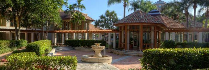 Pritikin Resort Entrance