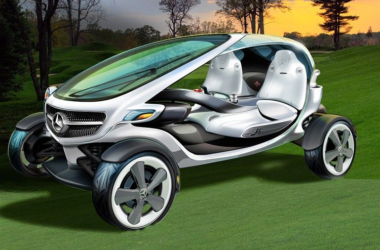Mercedes-Benz golf cart