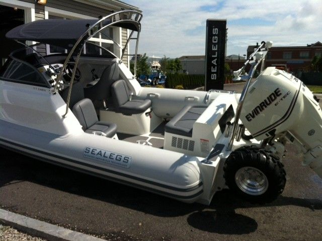 Sealegs Boats Allow You to Drive Your Boat Into the Water
