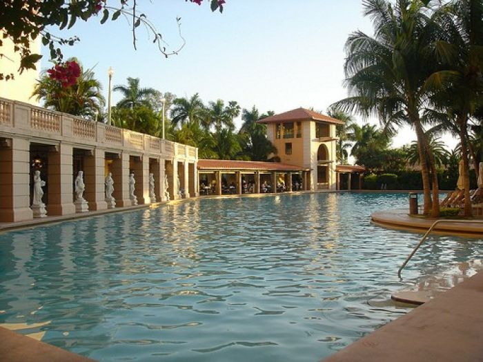 The Biltmore Hotel and pool