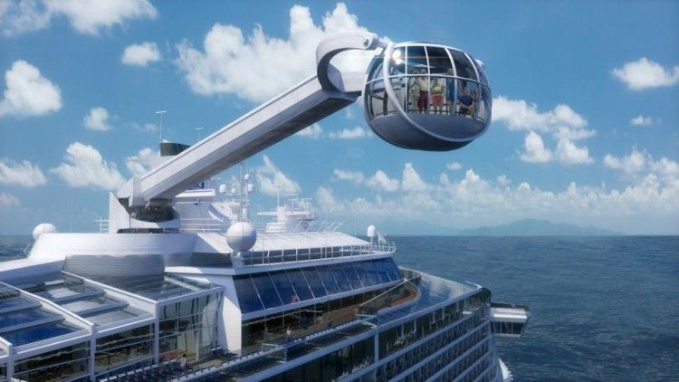 Royal Caribbean North Star on Quantum of the Seas
