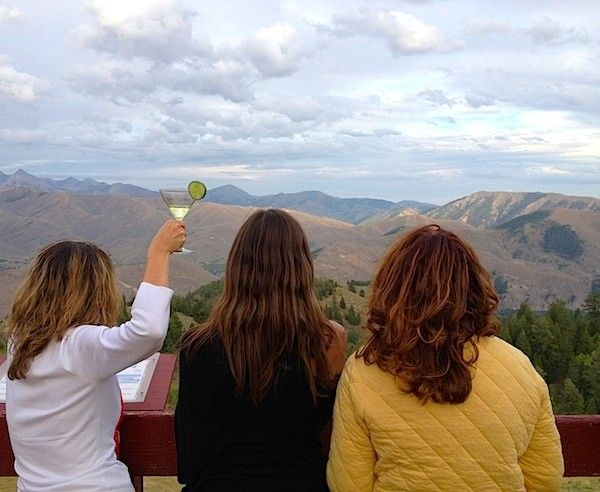 Mountain top martinis