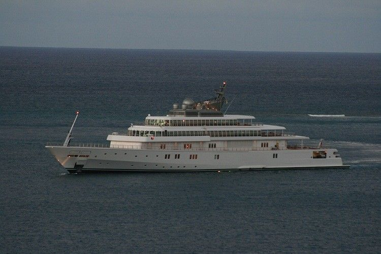 David Geffen's 82-Room Megayacht