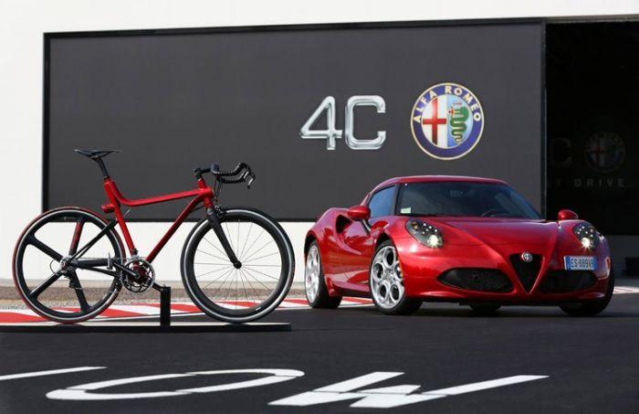 Alfa Romeo 4C bike