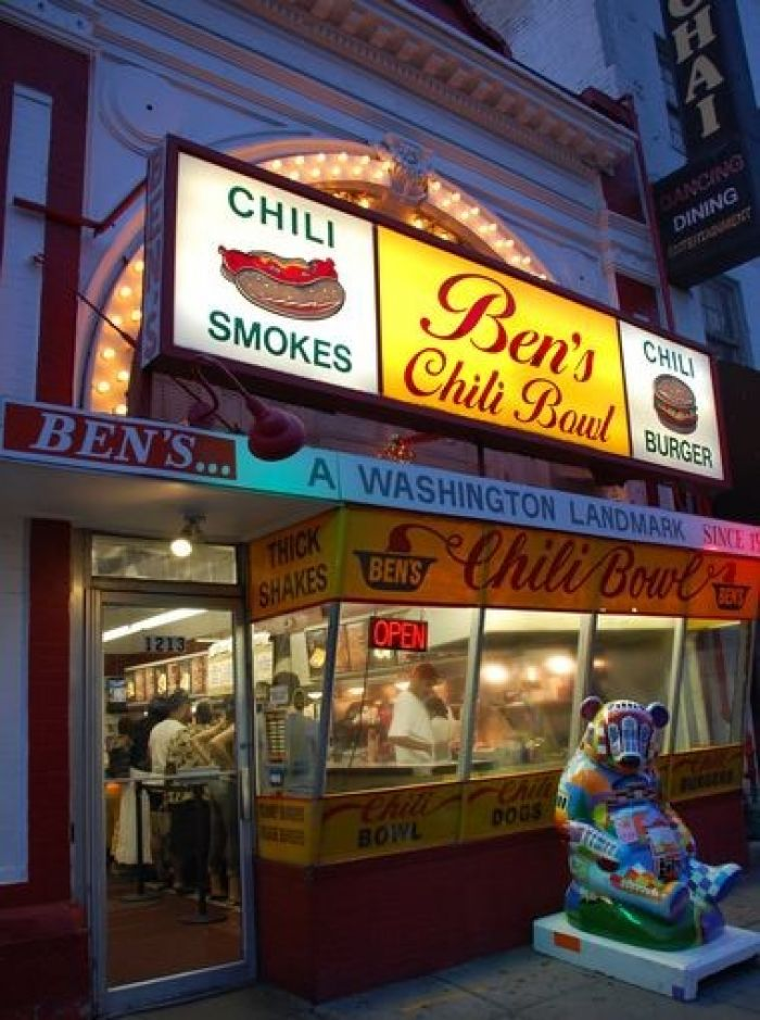 Ben's Chili Bowl in Washington DC
