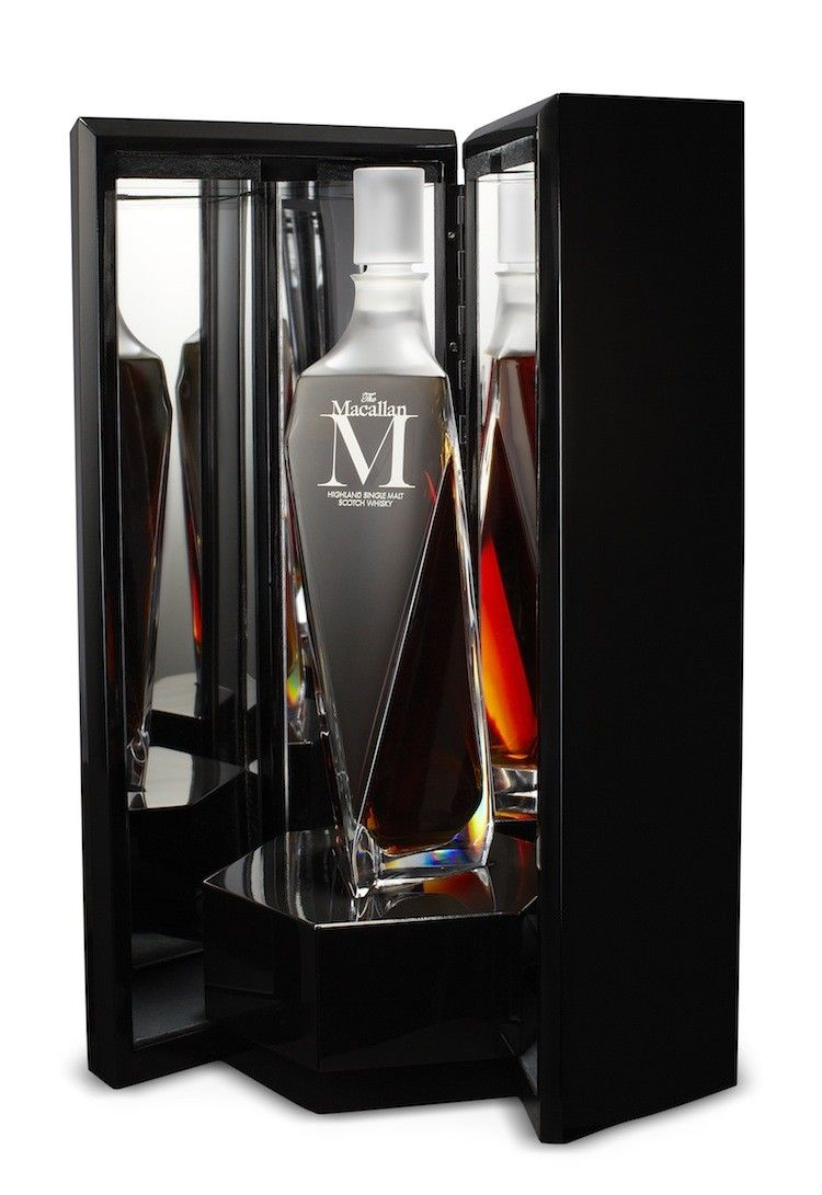 Lalique Decanter  Macallan Single Malt