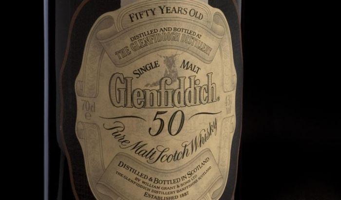 Glendiffich 50 Sells for Over $22k at Bonhams Whisky Sale in Ed