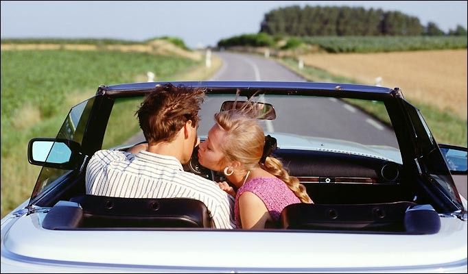 romantic road trip