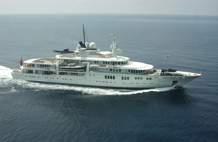 Paul Allen and Vladimir Putin Superyacht  Sochi Olympics