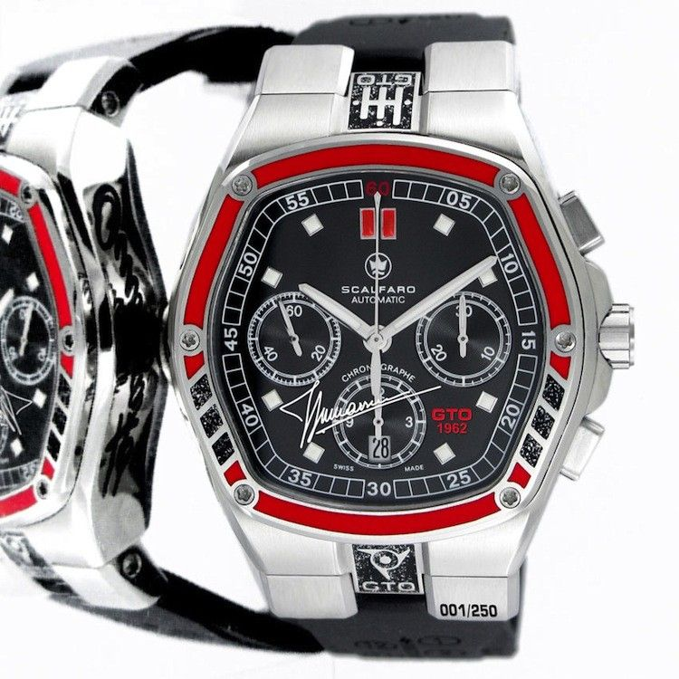 Scalfaro GTO1962 Bizzarrini Edition chronograph