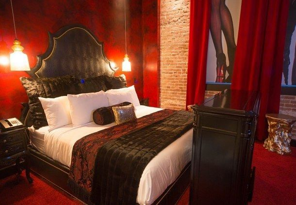 Lucifer Suite at Saint's Hotel in New Orleans