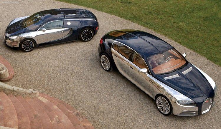 Bugatti Veyron and Galibier