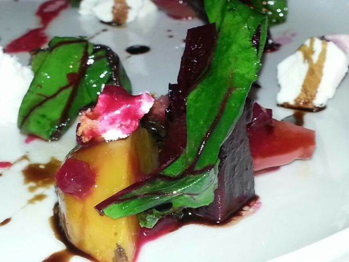 Davio's Beet & Goat Cheese Salad