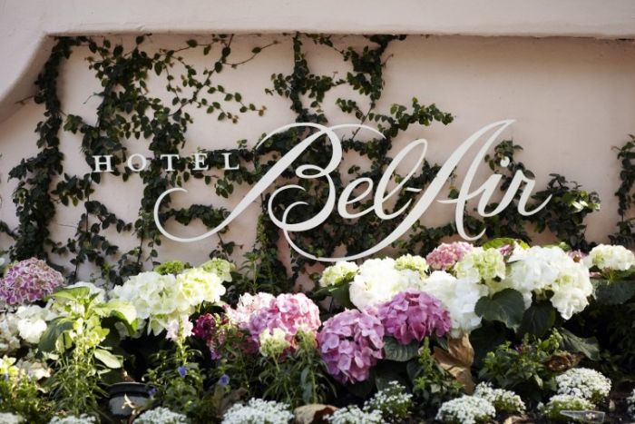 Hotel Bel-Air Entrance