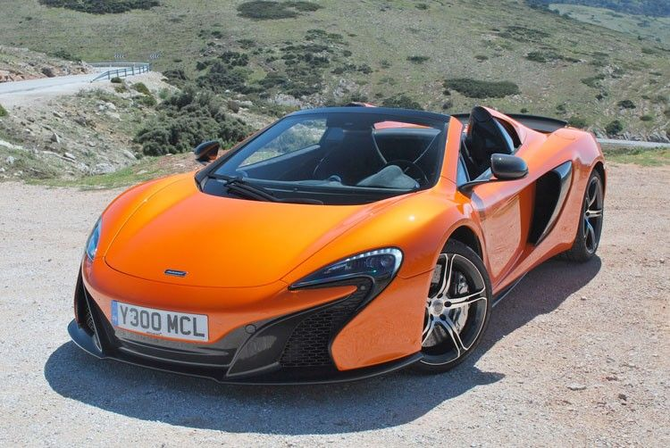 mclaren 650s driving review