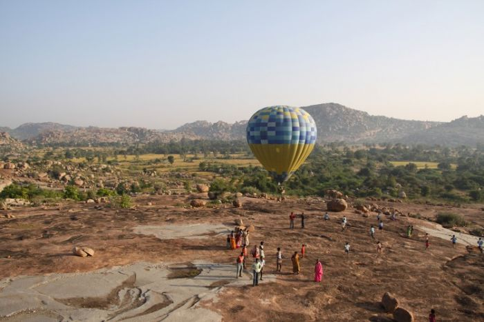 Hot air ballooning in Rajasthan