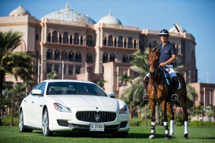 Maserati Centennial Polo Tour
