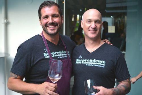 Chef Mirko and Chef Noland
