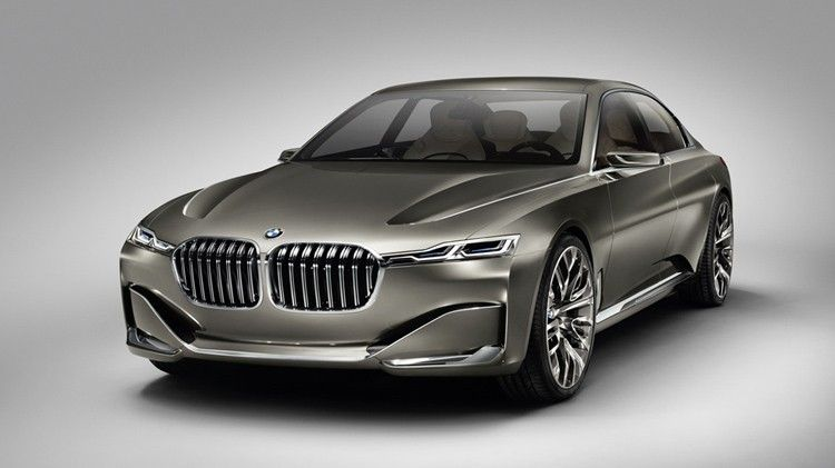 bmw Flagship Sedan With Vision Future Luxury Concept