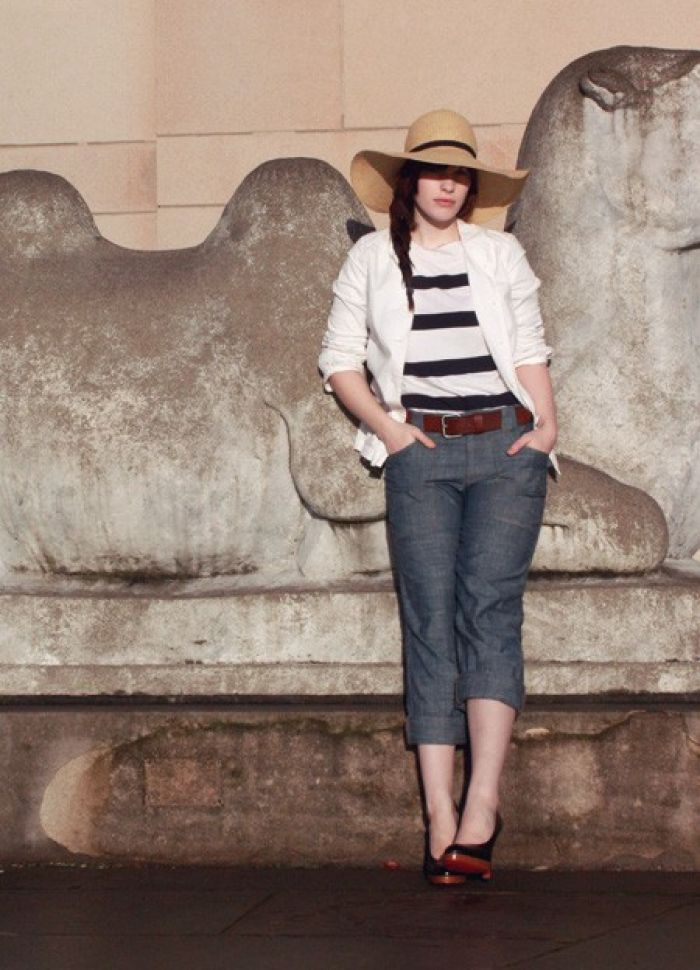 Step Out in Style with a Floppy Hat