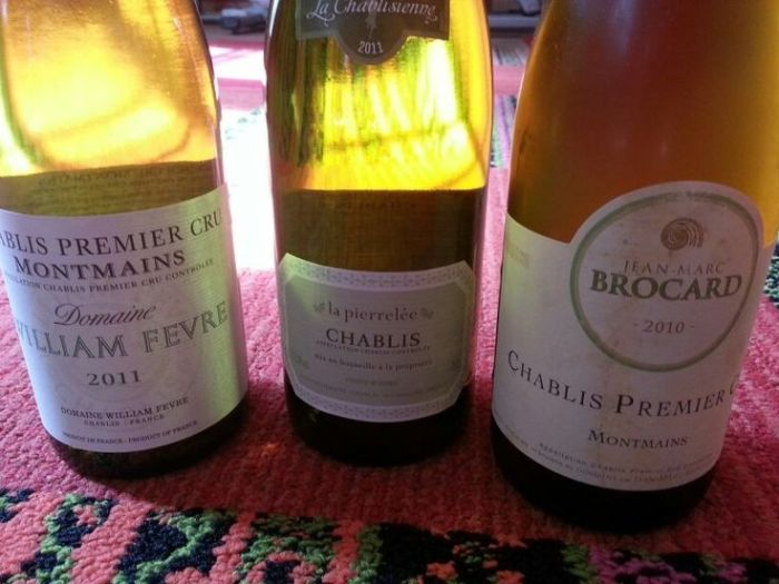 Getting Acquainted With Some Fine Chablis
