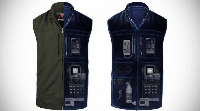 ScotteVest's New RFID Travel Vest