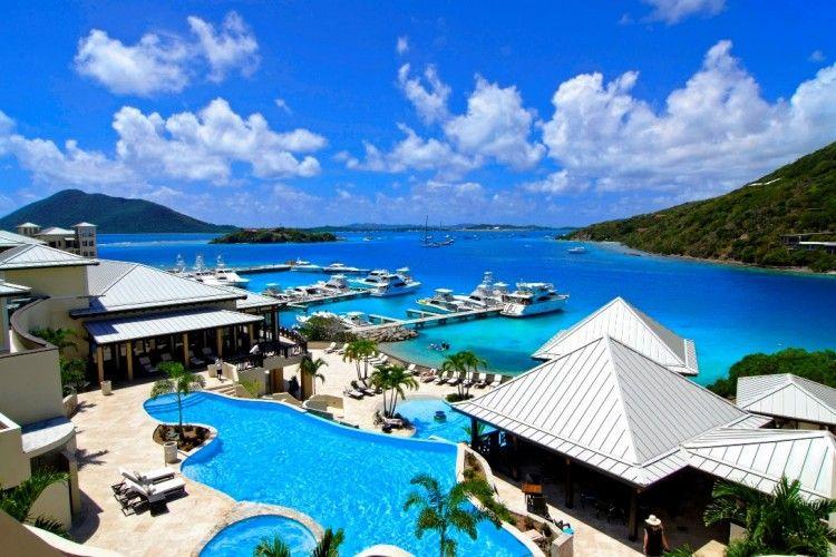 Scrub Island -- A classic BVI marina-hotel