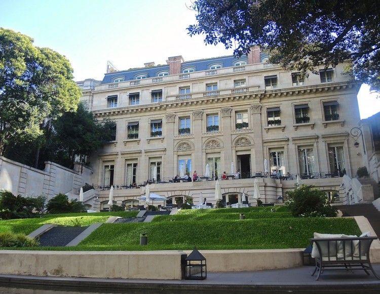 Palacio Duhau Terrace