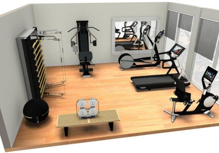 Technohome partners with technogym to provide luxury home for Luxury home gym
