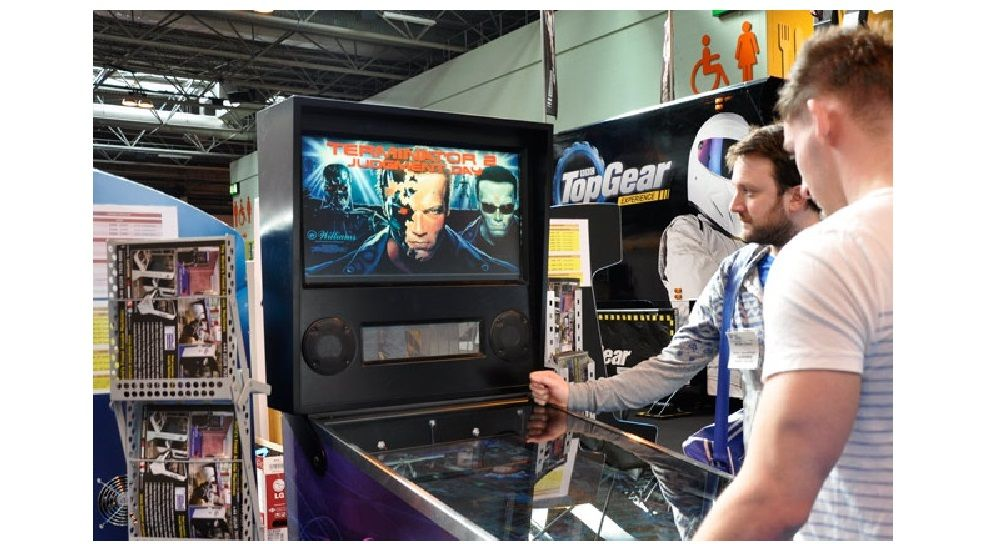 Digital Pinball Machine Gadget Show Live 2015