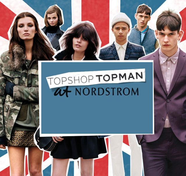 Nordstrom Expands Partnership with Topshop and Topman