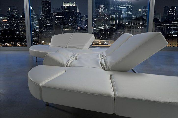 Sofas that are sure to make a unique statement - Divano flap edra ...