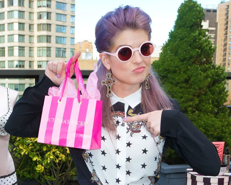 New York Fashion Week Lounges Kelly Osbourne