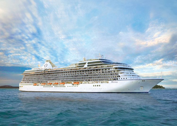 Riviera Sets Sail as Oceania Cruises Newest Luxury Liner