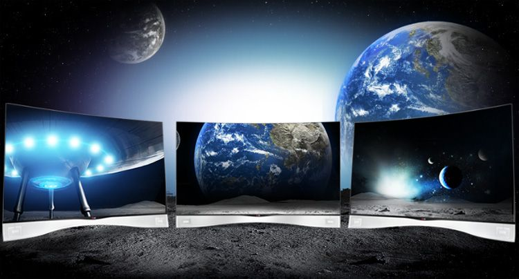 LG Curved OLED Television