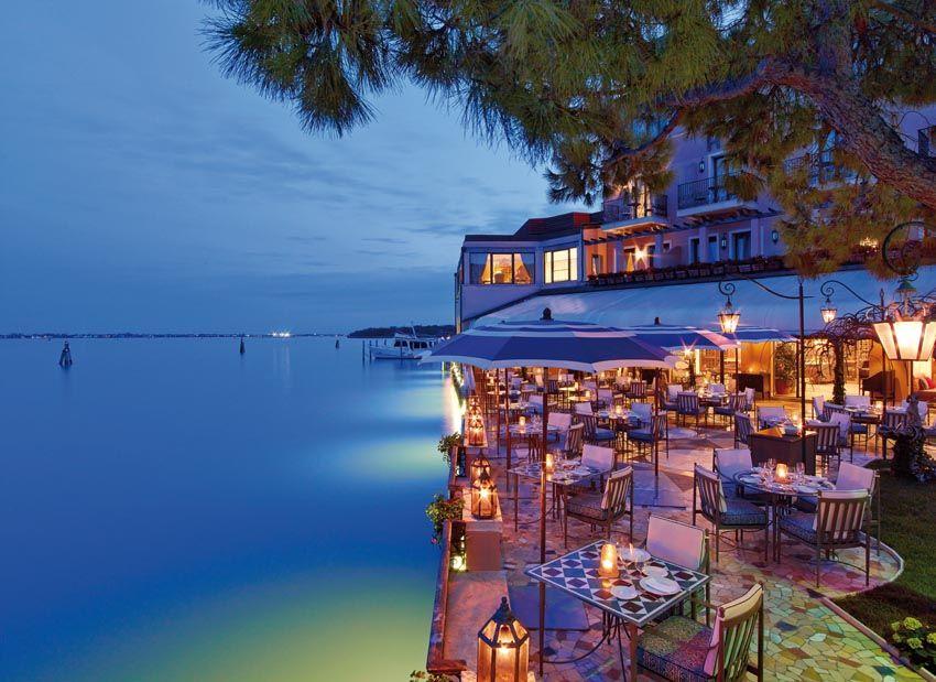 Belmond Hotel Cipriani oro restaurant