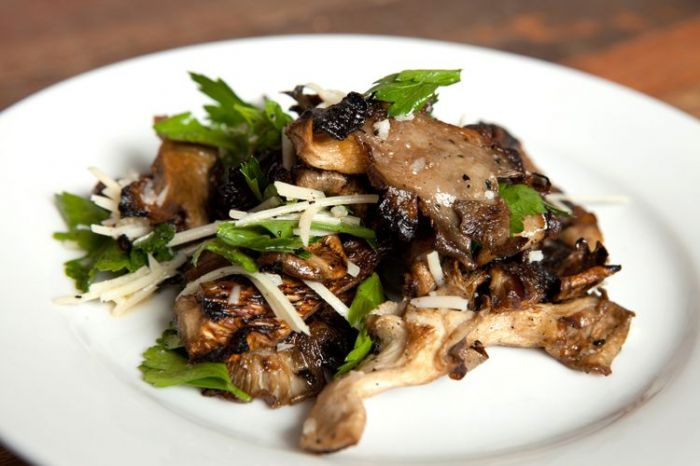 Easy Grilled Oyster Mushrooms Recipe
