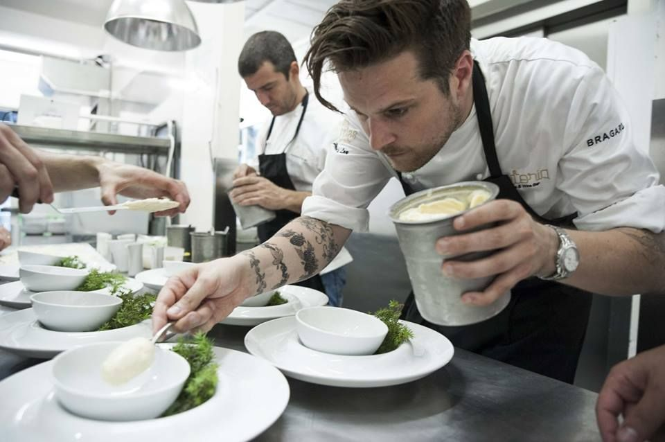 Chef Yves Le Lay,P�daste Manor