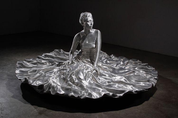 wire sculptures human