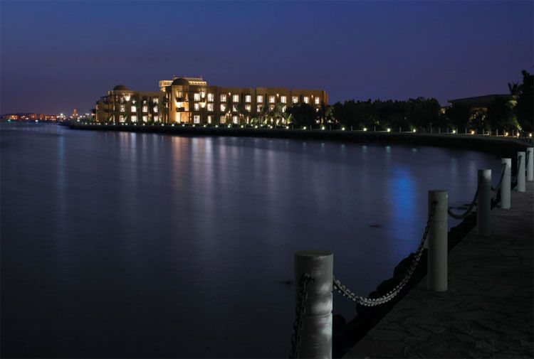 Park Hyatt Jeddah exterior night view
