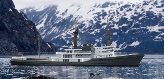 Pastrovich Studio Refits Ocean Going Tug Into A Private Yacht