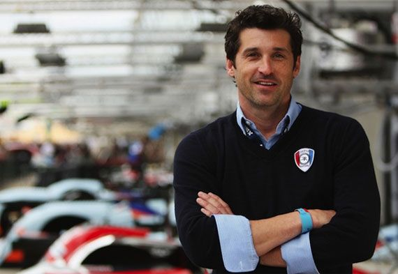patrick dempsey le mans race