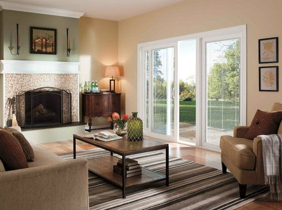 Pella 350 Series Sliding Glass Doors Delivery Maximum Energy ...