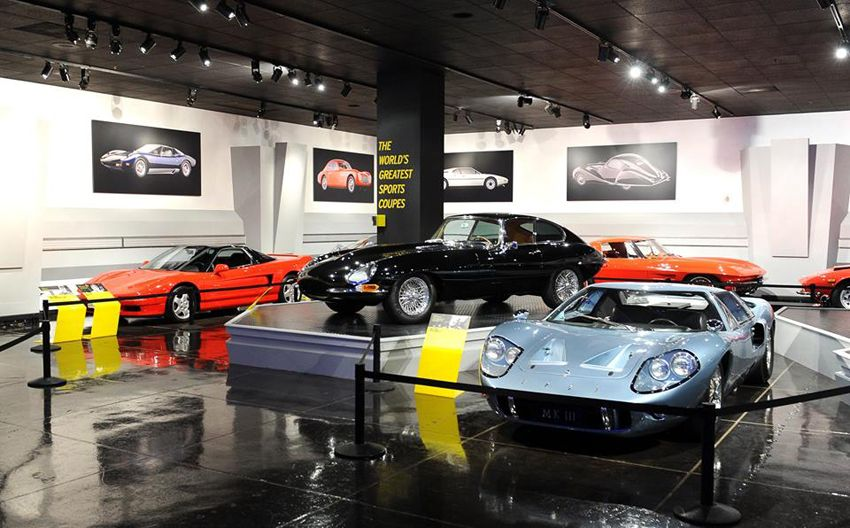 Petersen Automotive Museum,World's Greatest Sports Coupes