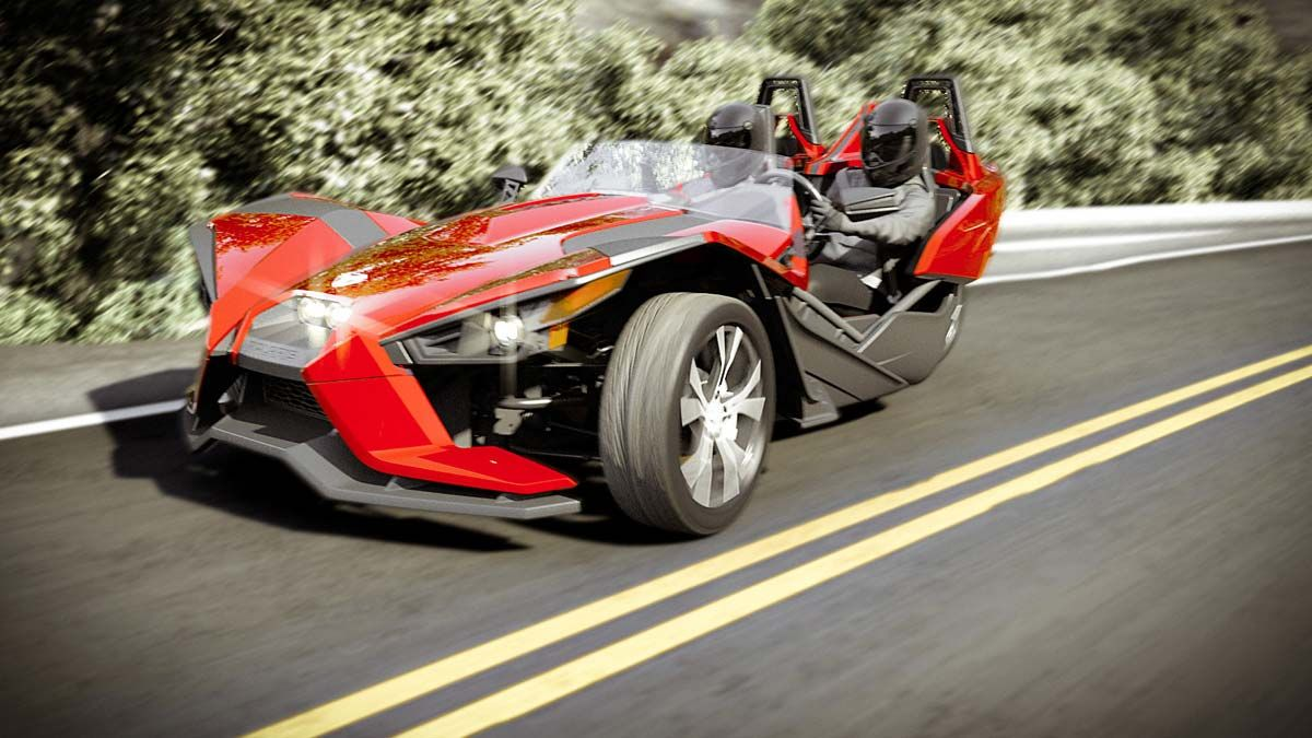 Polaris Three-Wheeler Slingshot