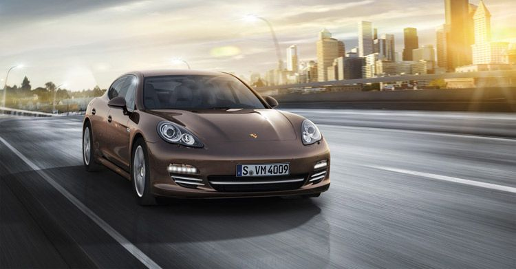 Porsche Panamera Platinum Edition