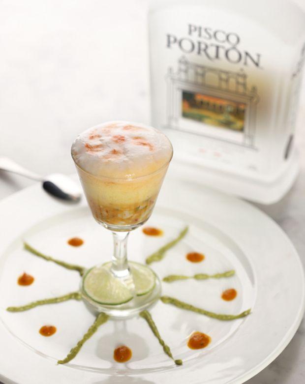 Molecular Mixology Recipe for The Portón Tigre