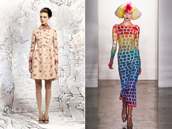New York Fashion Week Prints And Themes