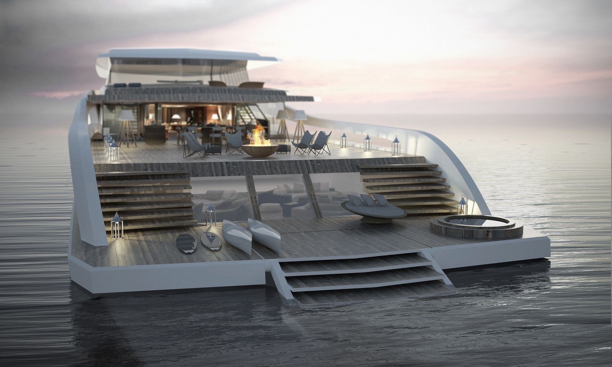 Pastrovich Studio, 55m x-easy yacht